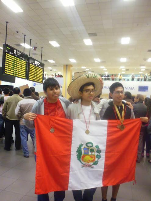 MEDALLAS DE ORO, PLATA Y BRONCE: BICAMPEONES IBEROAMERICANOS DE LA VIII OIAB MEXICO 2014.