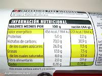 Valores nutricionales de las galletas rellenas de chocolate EROSKI BASIC