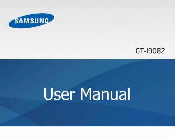 Samsung Galaxy Grand I9082 Manual Cover