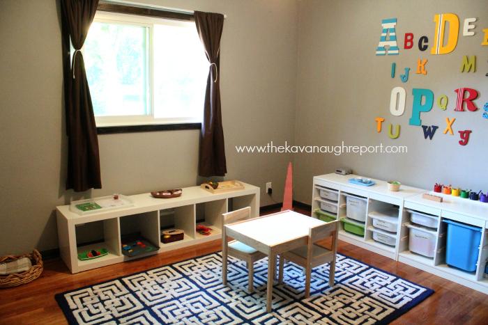 Montessori, Tot School, Homeschool Classroom