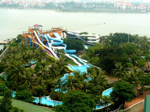 Công viên nước Hồ Tây - Hồ Tây Hà Nội