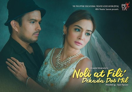 noli and fili 2008–2009: noli at fili: dekada 2000, a stage adaptation of noli me tángere and el filibusterismo by the philippine educational theater association.