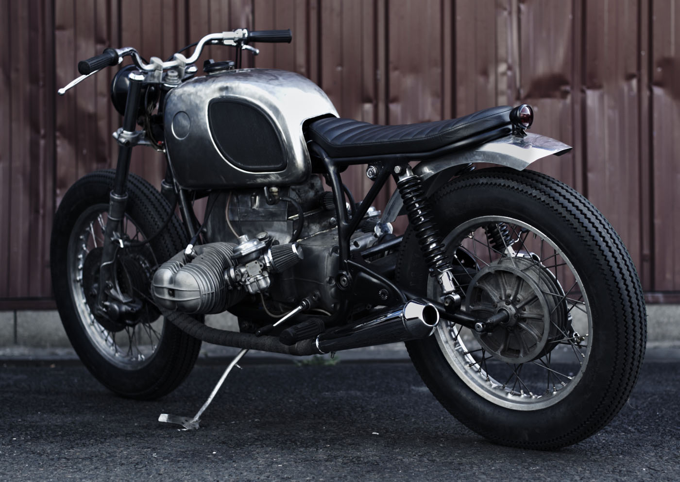 clasp garage bmw r75 6 by clutch custom. Black Bedroom Furniture Sets. Home Design Ideas