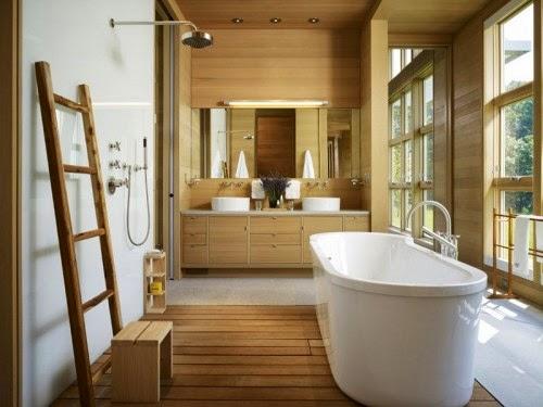 Rumah kayu eco-design minimalis