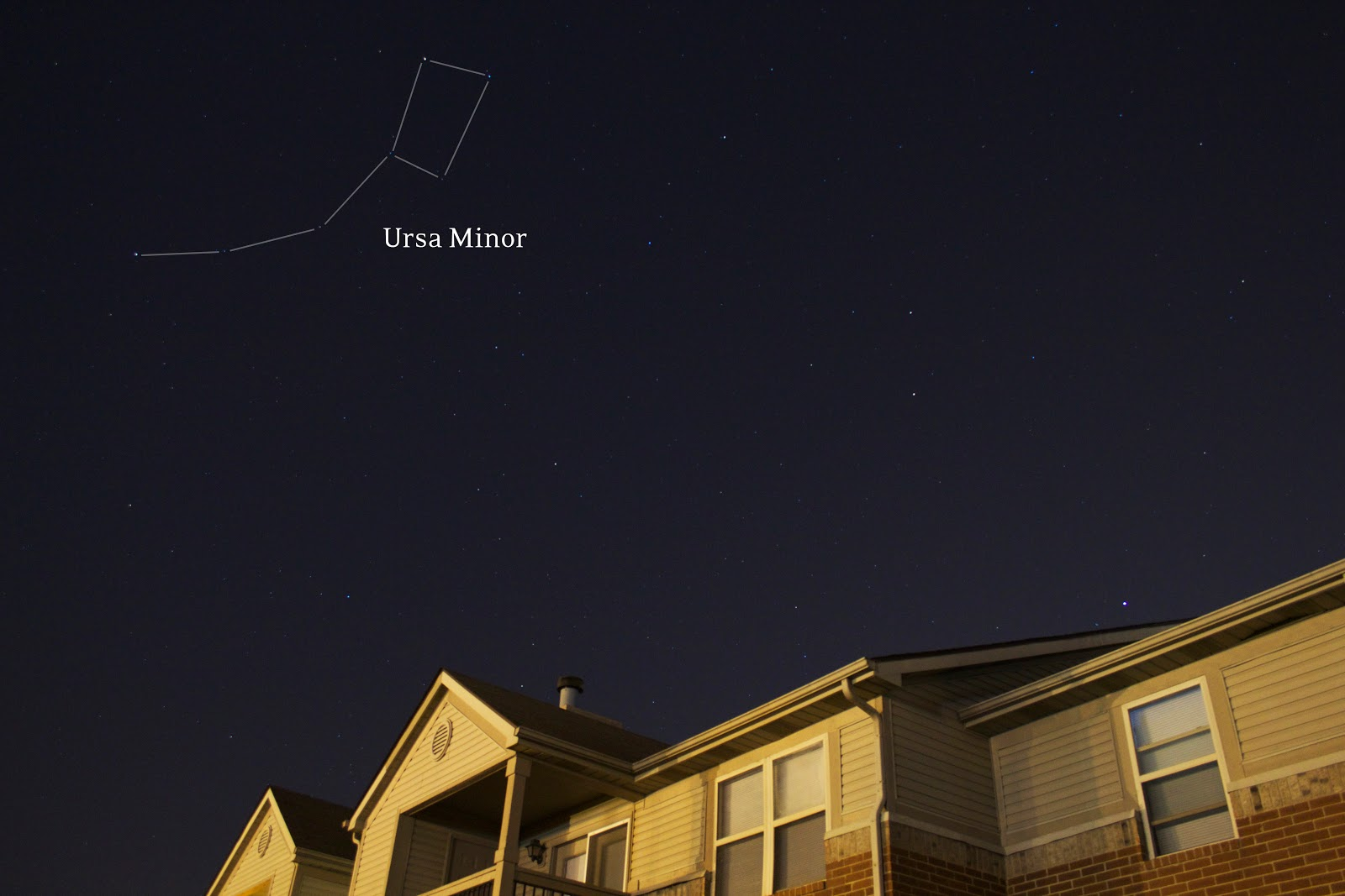 ursa minor with DSLR