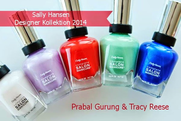 Sally Hansen Designer Kollektion 2014 - Preview
