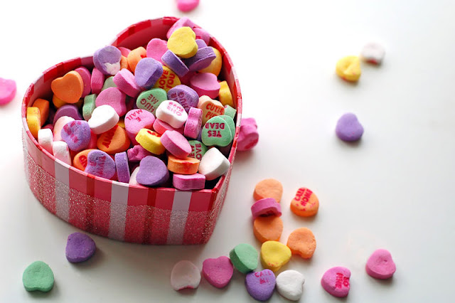 candy hearts, Sweetest Day
