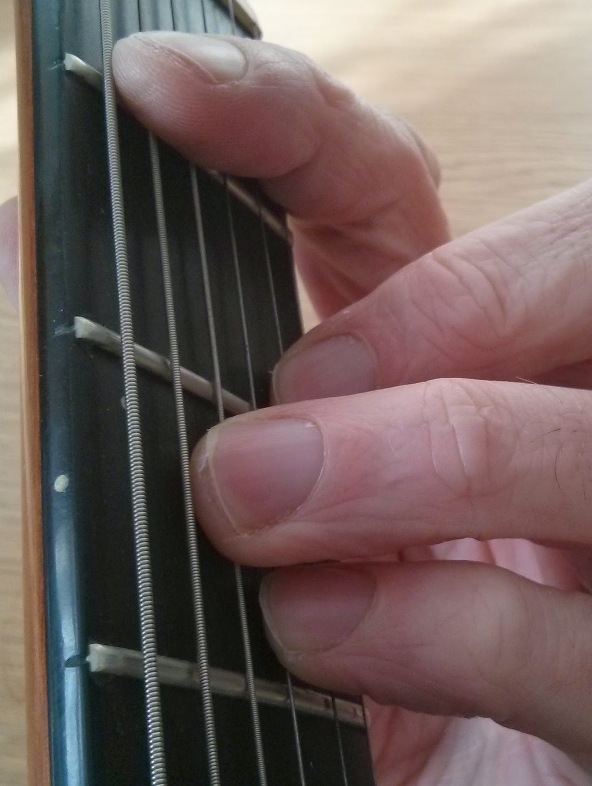 Bb minor guitar chord
