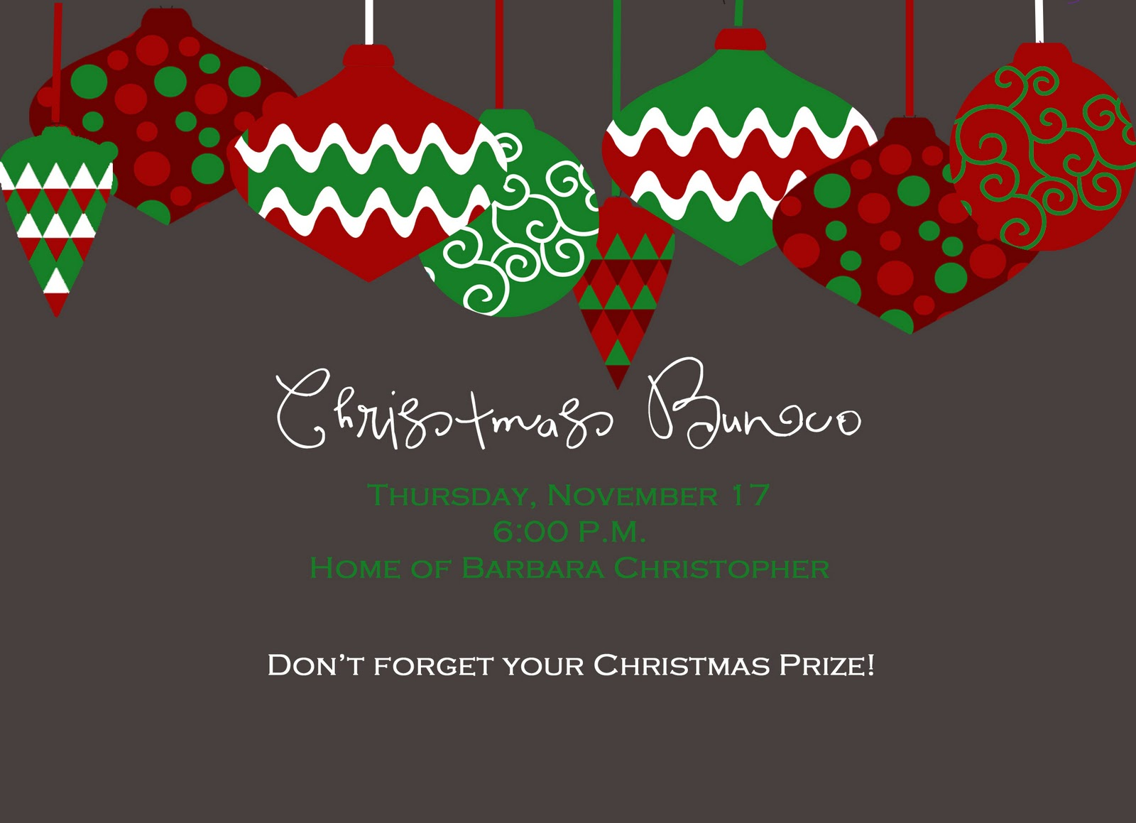 MG Paperworks: Christmas Invitations
