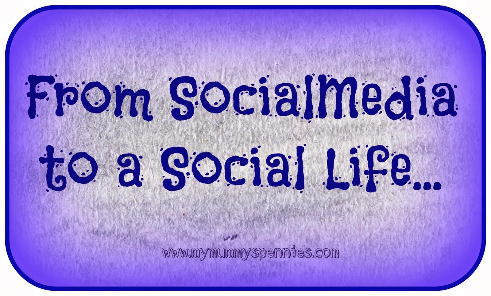 From social media to a social life