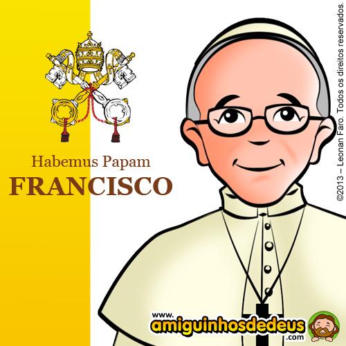 Papa Francisco desenho