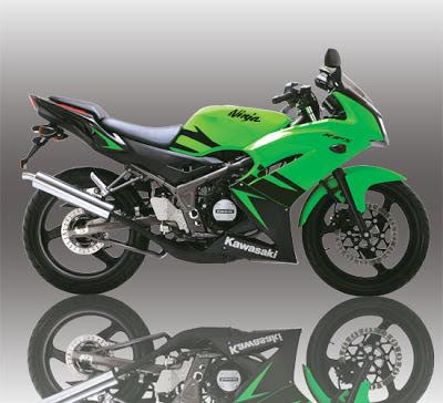Kawasaki Ninja RR 150 Green
