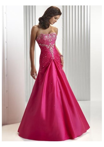 May you all like this beautiful collection of red prom dresses