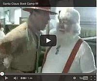 Typisch USA: Das Weihnachtsmänner-Drillcamp