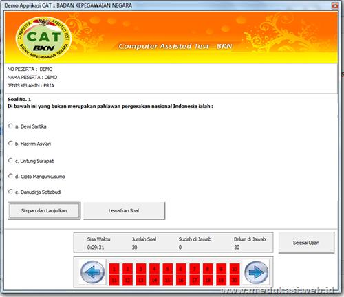 Tes Kemampuan Anda Dengan Software Simulasi Cat Cpns Quot Ariostudio Quot