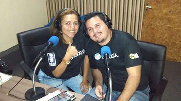Apresentadores do Programa Avivamento Shekinah! Andreza Conde & Cleiton Silva