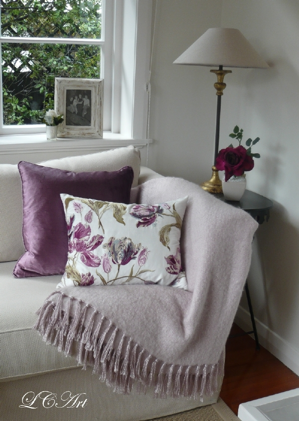 Lee Caroline A World Of Inspiration Lilac Inspiration My - Laura ashley living room purple