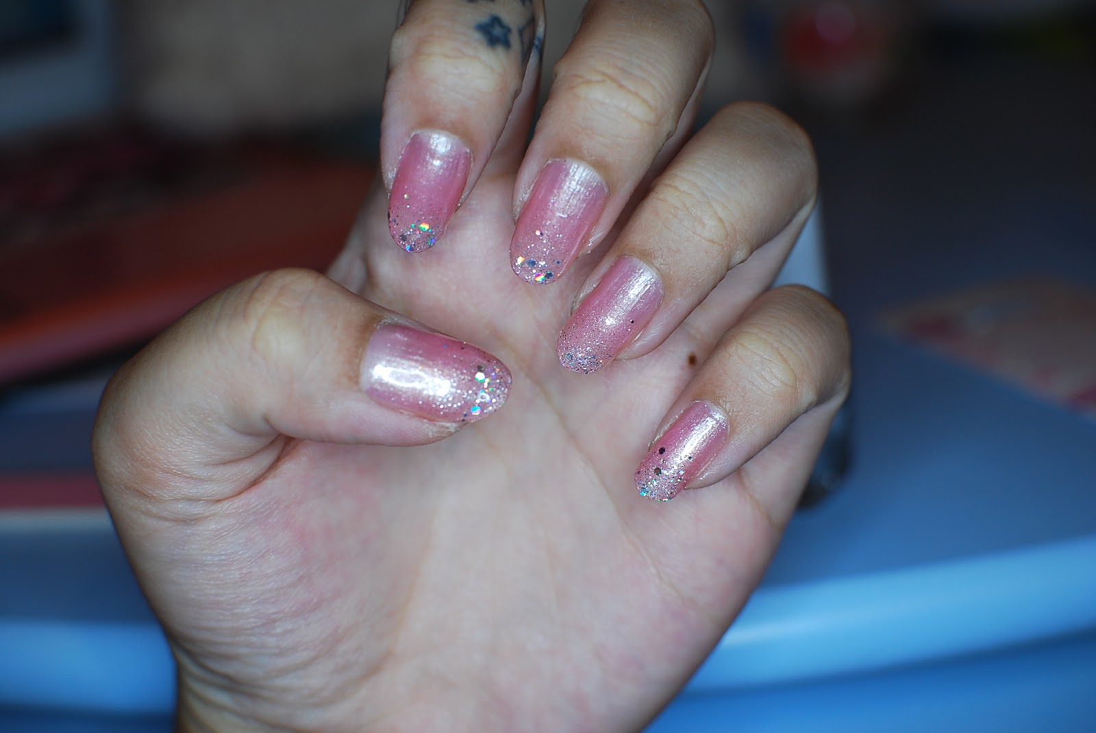 My Darling Rainbow: Pink Collection nail polish set and mini haul