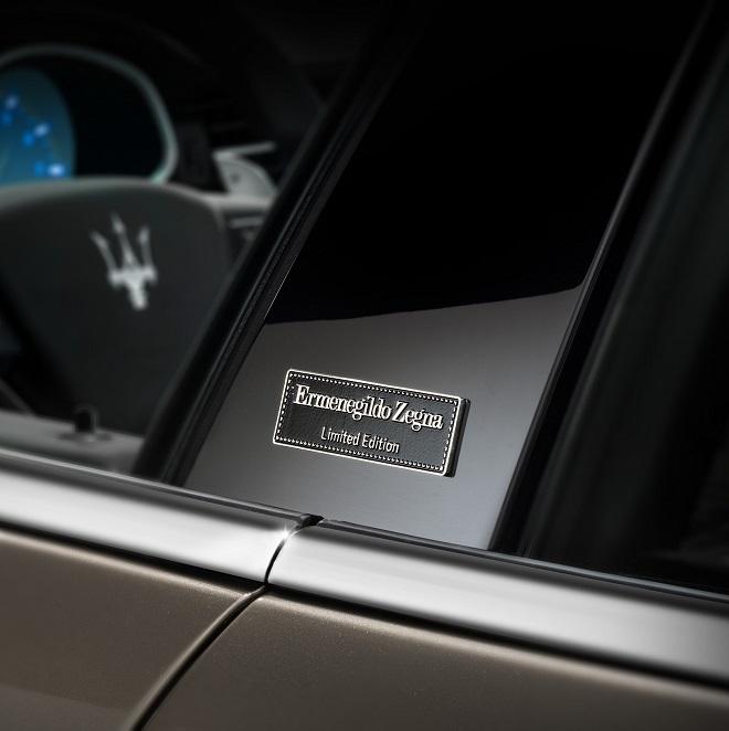 2014 Maserati Quattroporte Interior: Maserati Quattroporte Ermenegildo Zegna Limited Edition