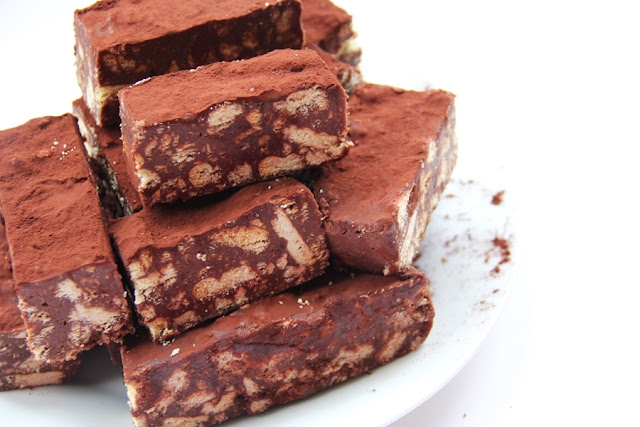 chocolate fridge cake bars chocolate fridge cake bars