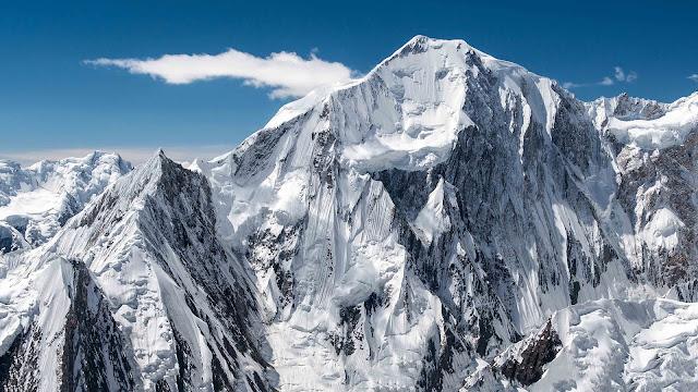 Mountains Winter HD Wallpaper