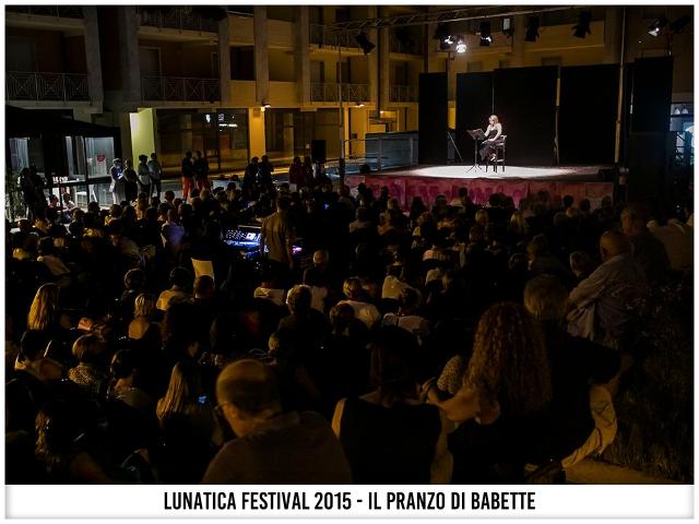 Lunatica Festival 015 - Lella Costa - Il pranzo di Babette... il giorno dopo.