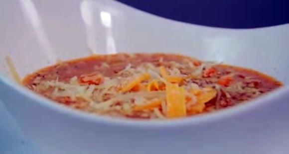 Sopa De Tomate Con Atun