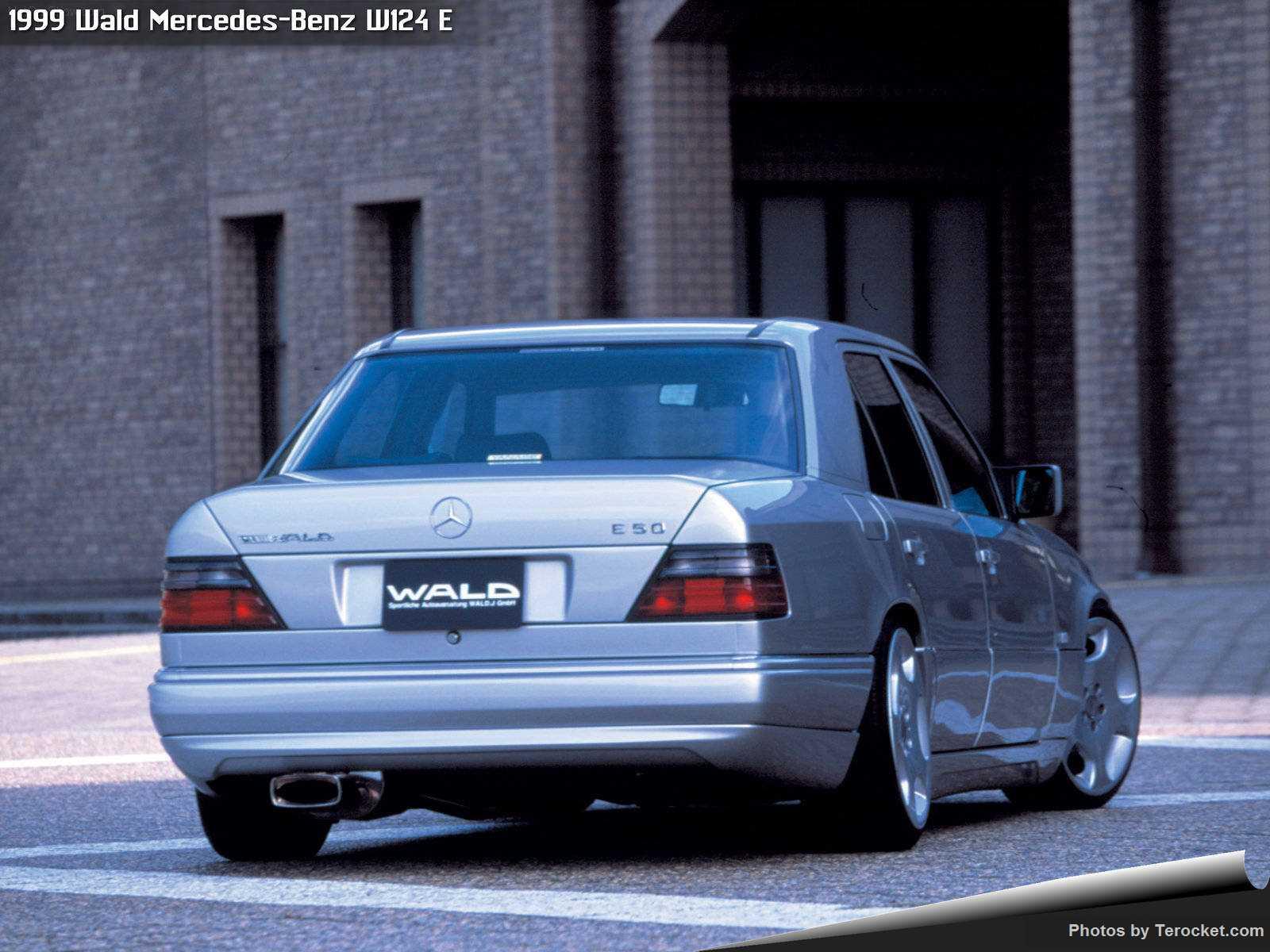 Hình ảnh xe độ Wald Mercedes-Benz W124 E 1999 & nội ngoại thất