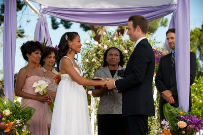 Jada Pinkett Smith and Michael Vartan get getting married on Hawthorne