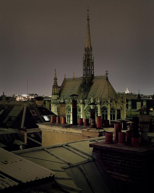 Paris vue depuis les toits, by Alain Cornu - Nest of Pearls
