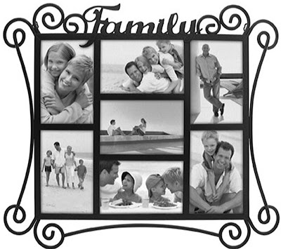 Family Metal Collage Picture Frame Hp3014 70