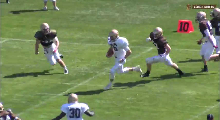 Despite Limited Roster, Brown And White Game A Success with 31-20 Win by White Offense