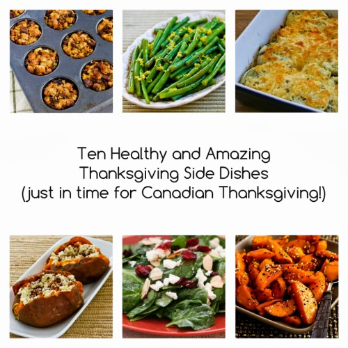 Ten Healthy and Amazing Thanksgiving Side Dishes