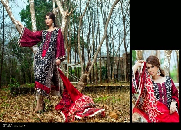 Zainab Chuttani's Lawn Eid Collection 2014