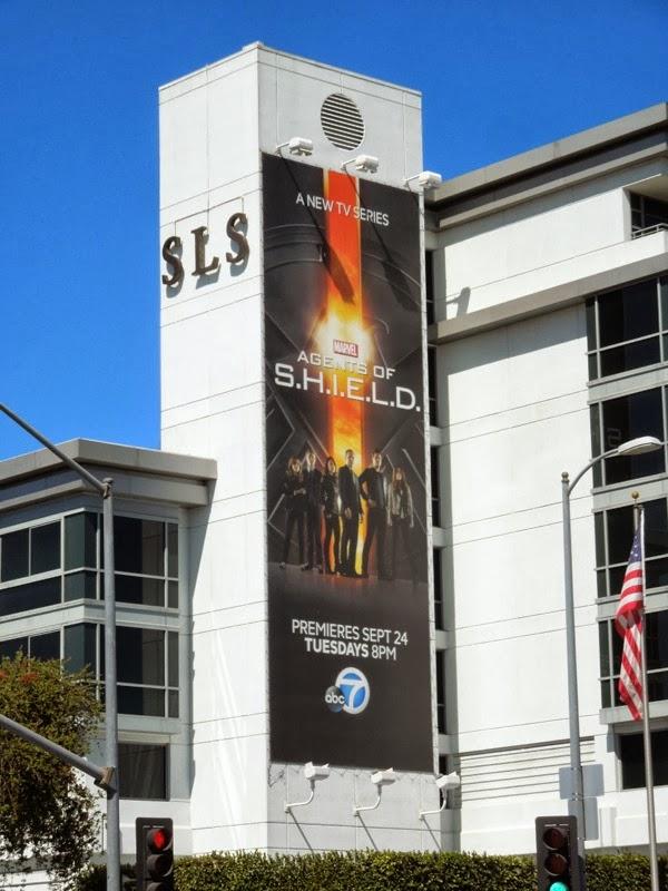 Agents of S.H.I.E.L.D. season 1 billboard