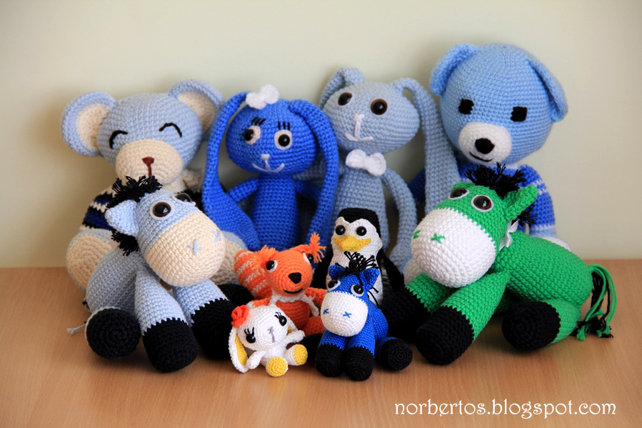 Crochet animal toys handmade
