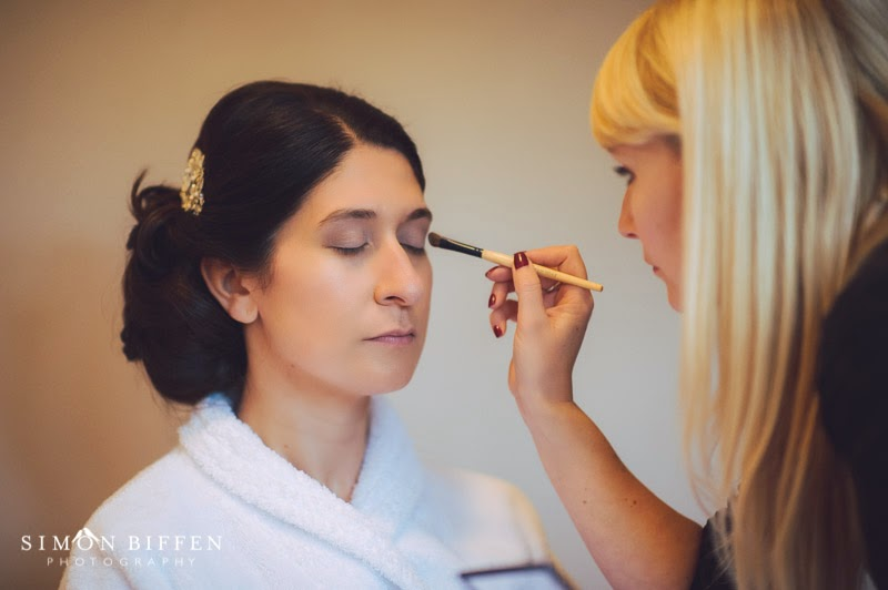 St Audries Park Wedding Bridal makeup