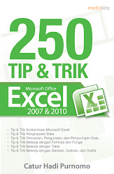 250 Tip &amp; Trik Microsoft Office Excel 2007 &amp; 2010