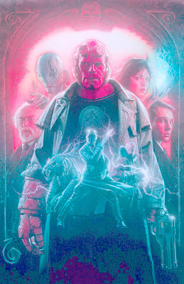 Drew Struzan Hellboy movie poster art