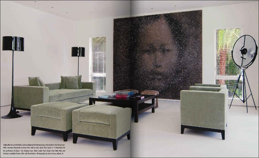 Una casa para el arte interiores por paulina aguirre - Blog de diseno de interiores ...