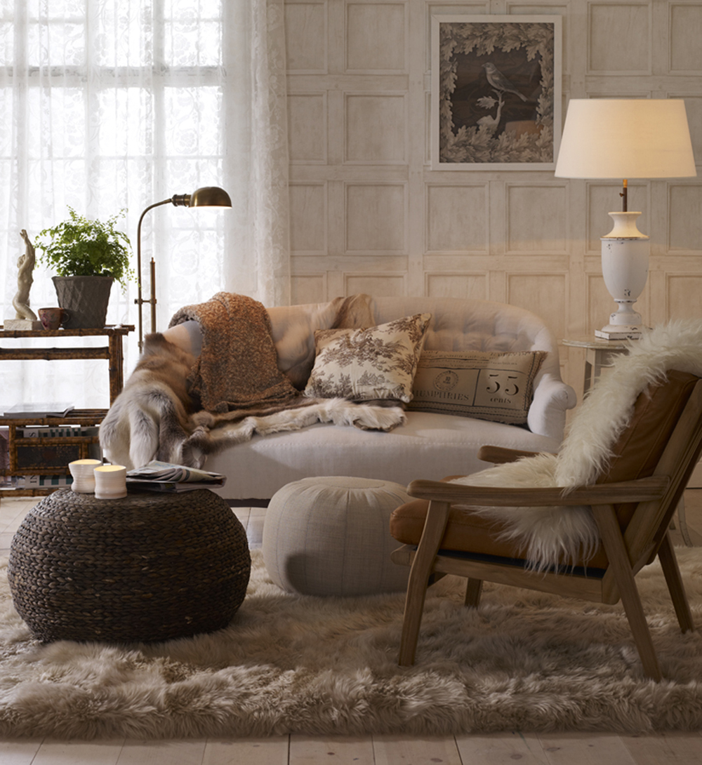 Home sweet home : kanske mera sandfärg i vardagsrummet
