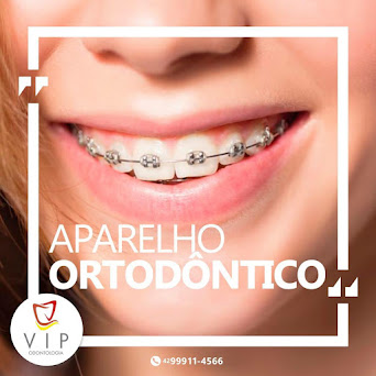 Não precisa ter medo de usar o aparelho ortodôntico. Marque uma consulta na Vip Odontologia-Turvo