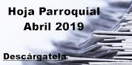Hoja Parroquial Abril 2019