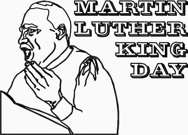 mlk printables coloring pages - photo#29