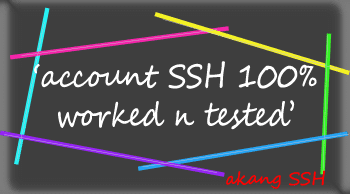 14 Account Fresh SSH 15 April 2014 (Singapore Server)
