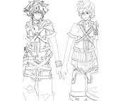 #6 Ventus Coloring Page