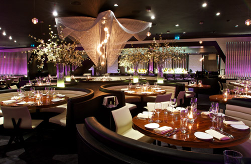 Fine dine by STK at ME London