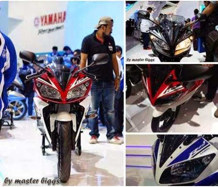 Desain terbaru Yamaha YZF-R15