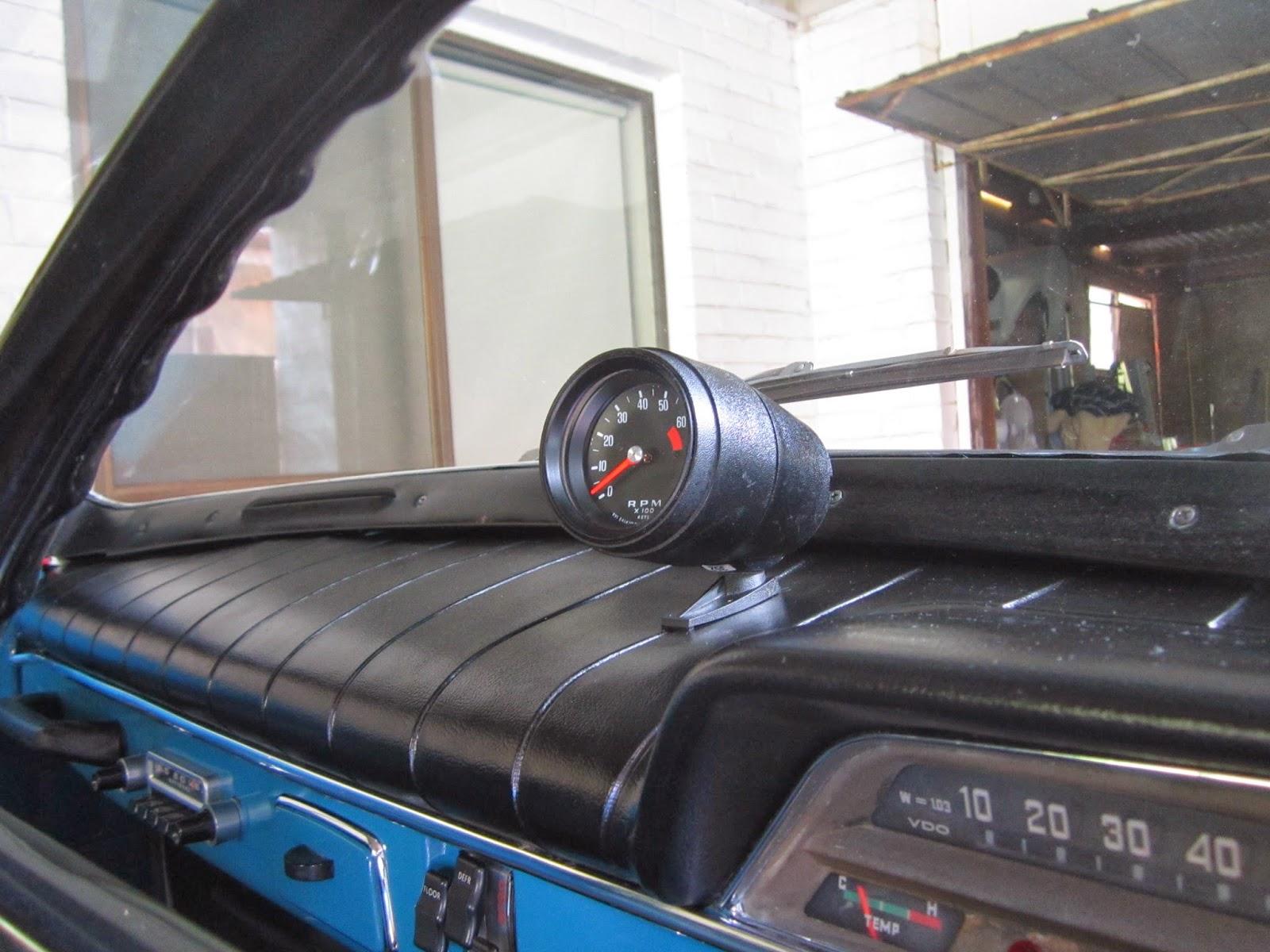 Smiths tacho  RVI 5414/00A in Volvo Amazon