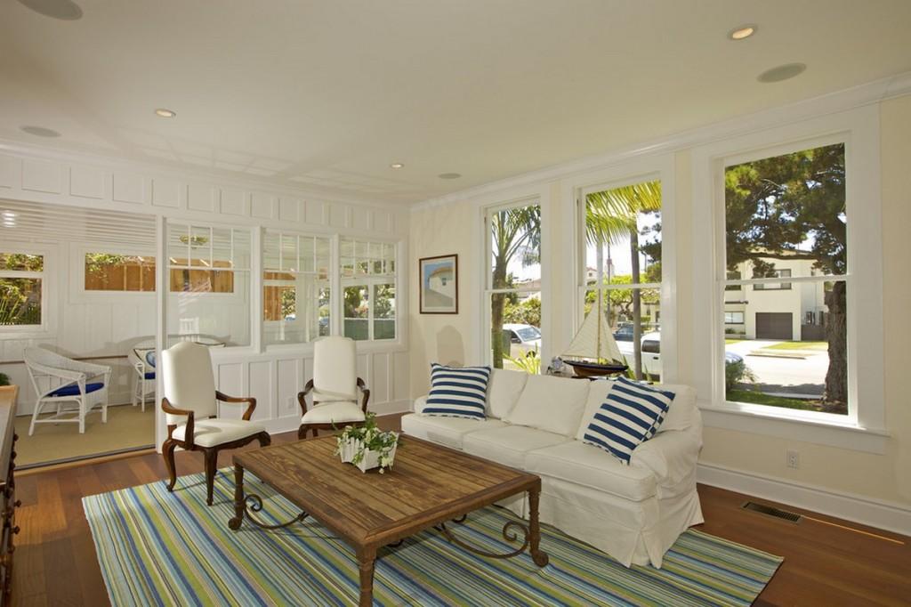 Nautical Decorating Traditional Living Room Via Dellacooks